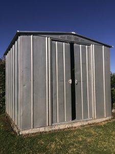 Blechhütte Gartenhaus