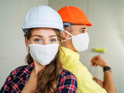 Corona-Handwerker-mit-Maske