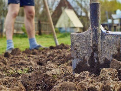 Gartenarbeiten – Beete umgraben