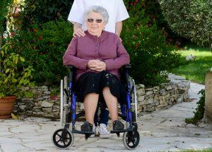 Garten für Rollstuhlfahrer